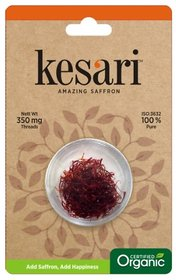 Kesari Organic Saffron Threads - 350 MG