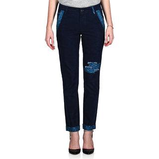 Indie Jeans AQUA Blue Womens Slim Denim Jeans