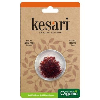 Kesari Organic Saffron Threads - 350 MG