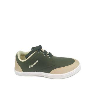 Evok Zaar Mens Mehandi  Beige Casual Shoes (Evok--3-MHD-BEEG)