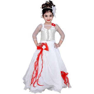 Arshia Kids Dresses Baby Clothing Girls Long Designer Net Frock