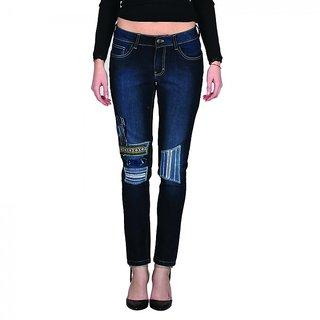 Indie Jeans BOREALIS White Womens Slim Denim Jeans
