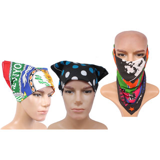Sushito Set Of Three Multi Functional Headwrap JSMFHHR0208-JSMFHHR0218-JSMFHHR0232