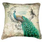 Set Of Three Peacock 4  Cushion Cover Throw Pillow