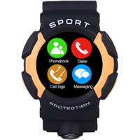 Bingo Sports Designed Waterproof C3 ORANGE Smartwatch Compatible With Android And IOS System Smartwatch