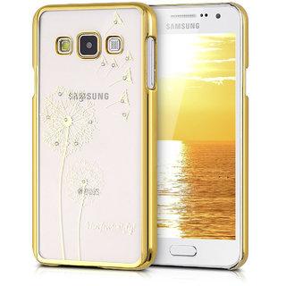 Dandelion design transparent case cover for Samsung Galaxy A8 GOLD