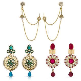 Beautiful Wear Designer Earrings Combo-2285