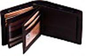 Eleegance Men Brown Artificial Leather Wallet (13 Card Slots) 15102-Brown