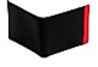 Eleegance Men Black Artificial Leather Wallet (8 Card Slots) 15107-Black