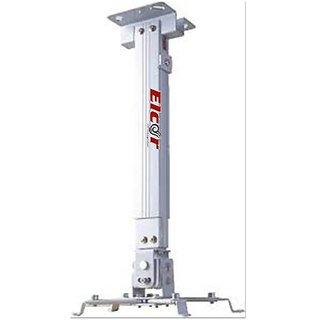 ELCOR Projector Ceiling Mount Kit 1 feet x 1 feet (2 feet) Adjustable