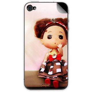 Instyler Mobile Skin Sticker For Apple I Phone 4 MSIP4DS-10062 CM-9982