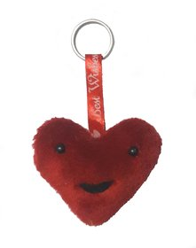 New Crafted Cute Love Heart Key Chain