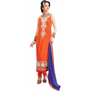 Mukta Mishree Exports Designer Embroidered Dress Materail