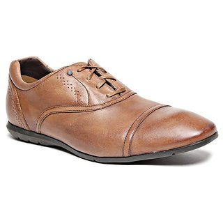 Rockport Men's Tan & Red Formal Shoes