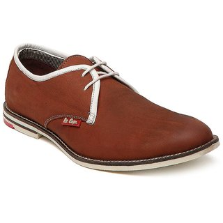 Lee Cooper Men's Tan Lace-Up Outdoors