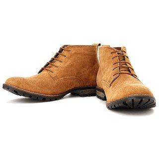 Lee Cooper Men's Camel Outdoor Shoes