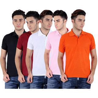 Polo T-Shirt (Set of -5)- Sanvi Traders