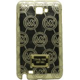 Snooky Golden Hard Back Cover For Samsung Galaxy Note I9220 Td8701