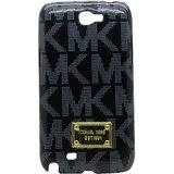 Snooky Black Hard Back Cover For Samsung Galaxy Note 2 N7100 Td8704