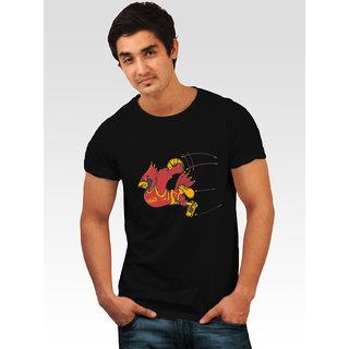 Incynk Men's Dunk Duck Tee (Black)