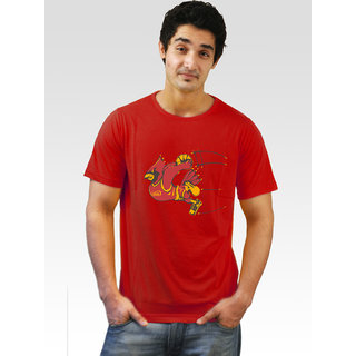 Incynk Men's Dunk Duck Tee (Red)