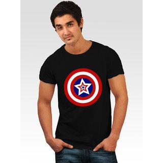 Incynk Men's Captain Star Tee (Black)