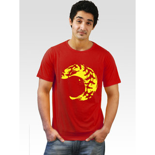 Incynk Men's Monster Smile Tee (Red)