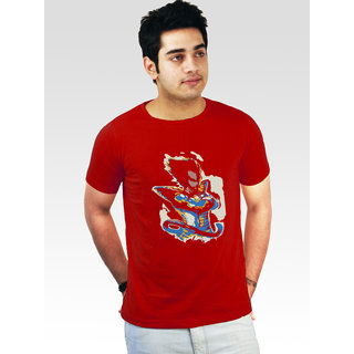 Incynk Men's Dragon Prince Tee (Red)