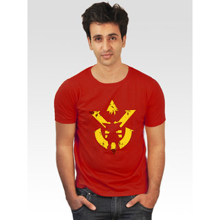 Incynk Men's Dragon Prince 2 Tee (Red)