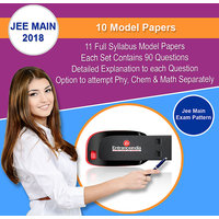 JEE Main Entrance 2018 Model Papers Pendrive (10 Sets)