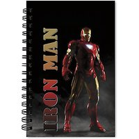 TheDesignJunction IronMan Cover A5 Notebook Spiral Bound