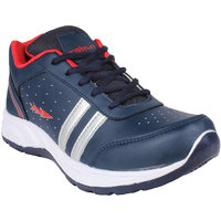 Columbus Men's Red & Blue Running Shoes
