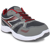 Columbus Men's Maroon & Gray Running Shoes