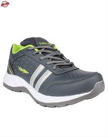 Columbus Men's Green & Gray Running Shoes