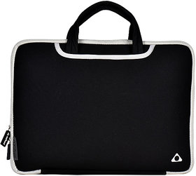 Stuffcool Go Easyfit Sleeve For Upto Macbook 13  Laptop 14 - Black