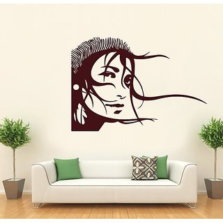 Hoopoe Decor Girl Is Watching Wall Stickers And Decals