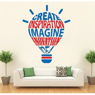 Hoopoe Decor Create, Inspiration, Imagin, Innovation And Idea Wall Stickers And Decals