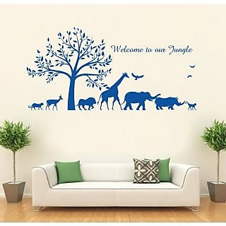 Hoopoe Decor Welcome To Our Jungle Wall Stickers And Decals