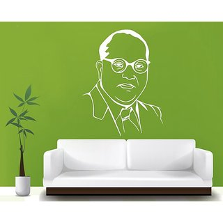 Hoopoe Decor Dr Bhim Rao Ambedkar 2 Wall Stickers And Decals