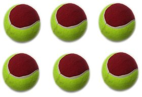 Cricket Tennis Balls (Pack of 6)