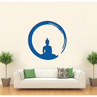 Hoopoe Decor Gautam Buddha Wall Stickers And Decals