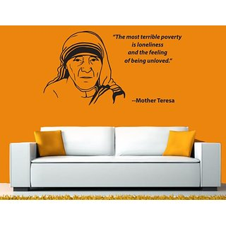 Hoopoe Decor Mother Teresa Wall Stickers And Decals