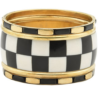 Chess bangle set of 5