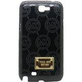Snooky Stylish Black Hard Back Cover For Samsung Galaxy Note 2 N7100 Td8707