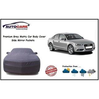 De AutoCare Grey Matty Car Body Cover Mirror Pocket For Audi A4