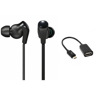 Kewin MDR-XB30 Earphone  OTG Best Combo (Colour May Very)