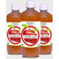 Sinew Apple Cider Vinegar With Mother of Vinegar- 500 ml, Pack of 3