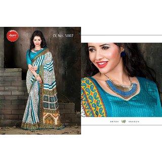 Ps Enterprise Silk Multi Color Saree - VND5007