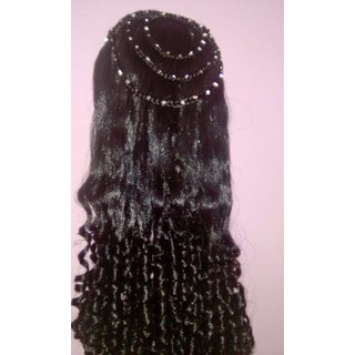 Stylish curled hair