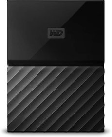 Western Digital My Passport 2.5 inch 1 TB External Hard Drive (Black)